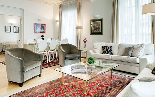 The Savoie: A Spacious Apartment in the Heart of the 2nd Arrondissement