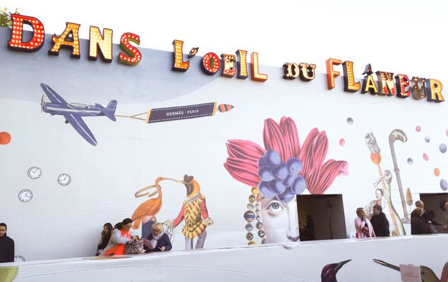 The Fascinating Life of a Flâneuse – Hermès Exhibition