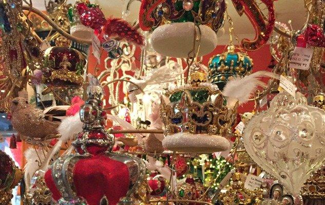 Christmas baubles galore at La Maison du Roy