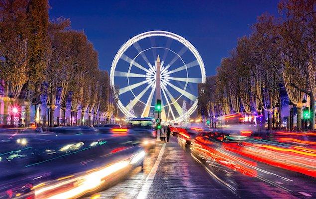 Paris Christmas Market Champs Elysées