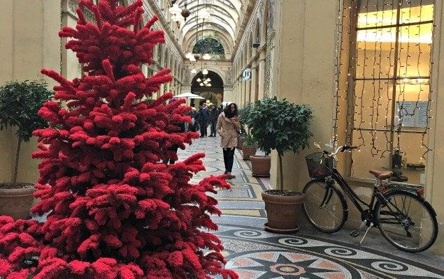 Galerie Vivienne Christmas Paris