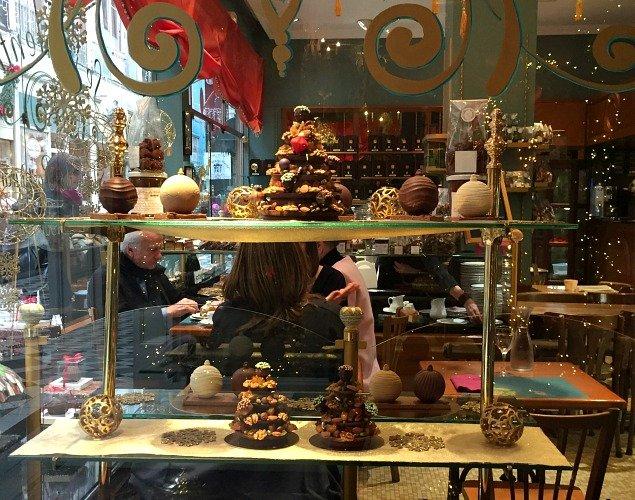 Sweet treats at Le Valentin