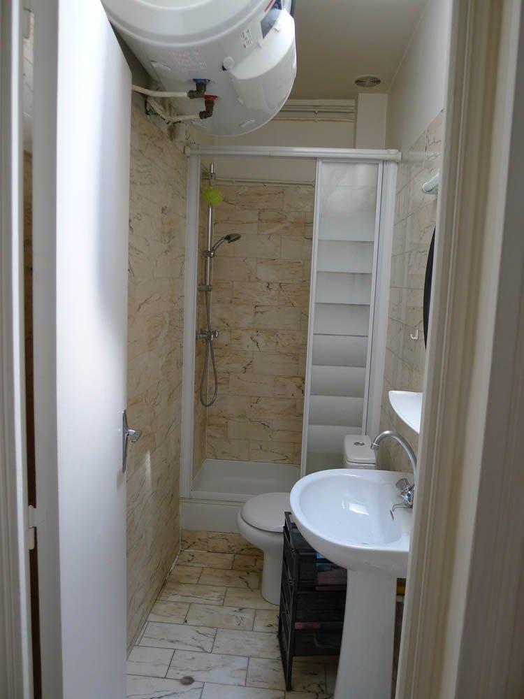 s bathhroom hanging hot water