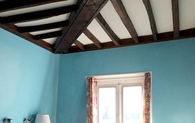 Before Dark Wooden Beams