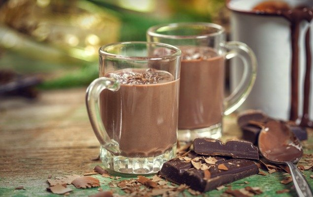 For the Winter Chill: Hot Chocolate with Chartreuse!