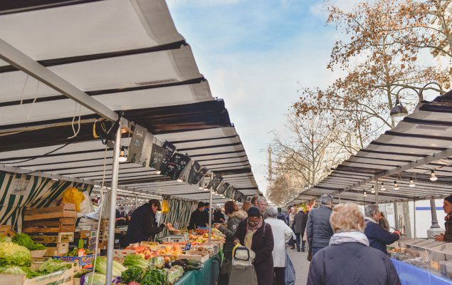 Exploring Paris by Bus - Line 87 - Marché Saxe
