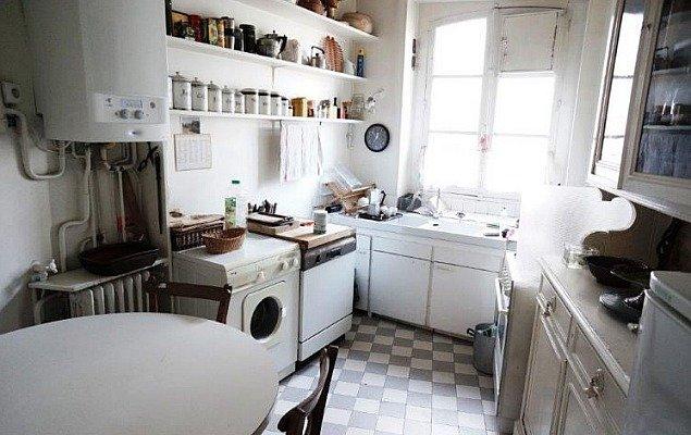 Paris Apartment For Sale Marais - Current Kitchen