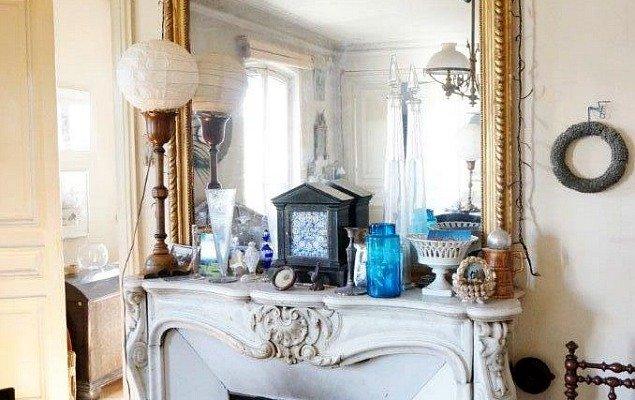 Paris Apartment For Sale Marais - Historic Fireplace