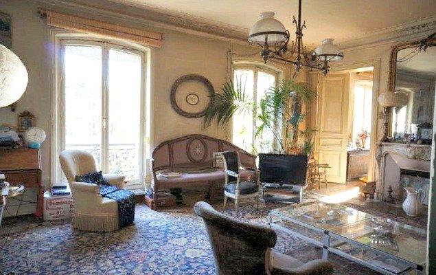 Paris Apartment For Sale Marais - Large Living Room