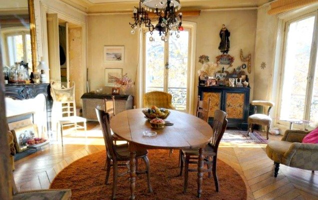 Paris Apartment For Sale Marais - Sitting Room