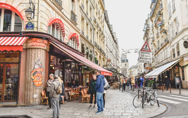 Exploring Paris by Bus - Line 87 - Rue de Buci