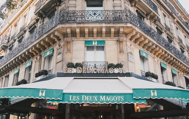 Exploring Paris by Bus - Line 87 - Les Deux Magots
