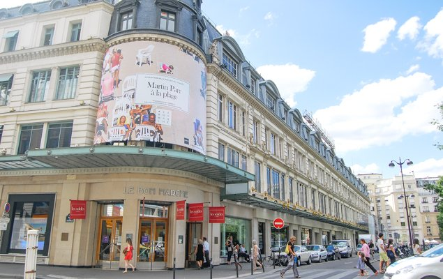 Exploring Paris by Bus - Line 87 - Le Bon Marché