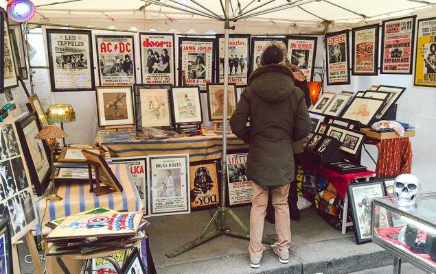 Rue Cler Flea Market-1