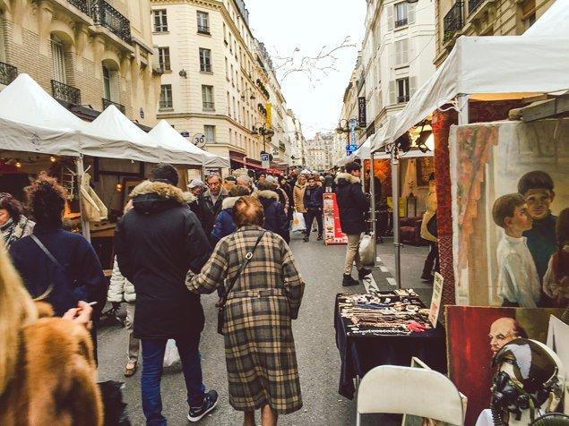 Treasure Hunting at the Rue Cler Brocante Market