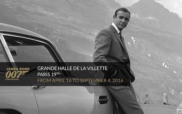 Paris Exhibitions Spring Summer 2016 - James Bond