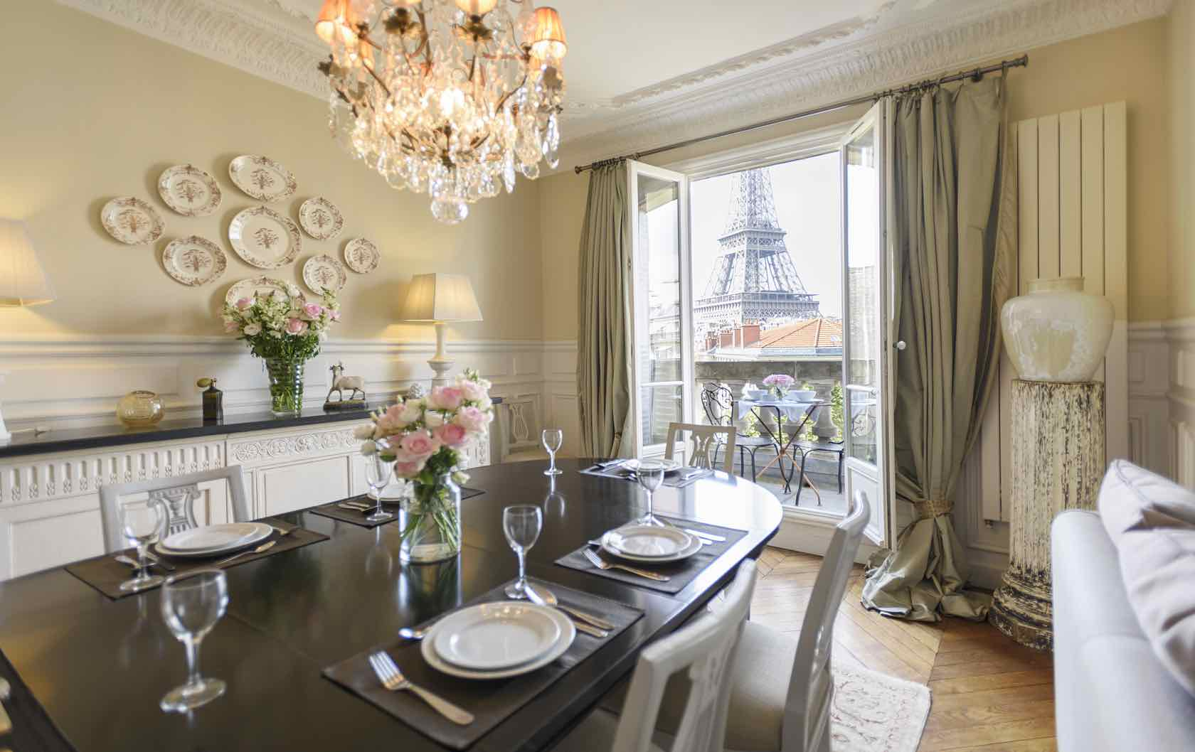 The 6 Most Romantic Paris Apartments for Lovebirds by Paris Perfect Marsannay apartment