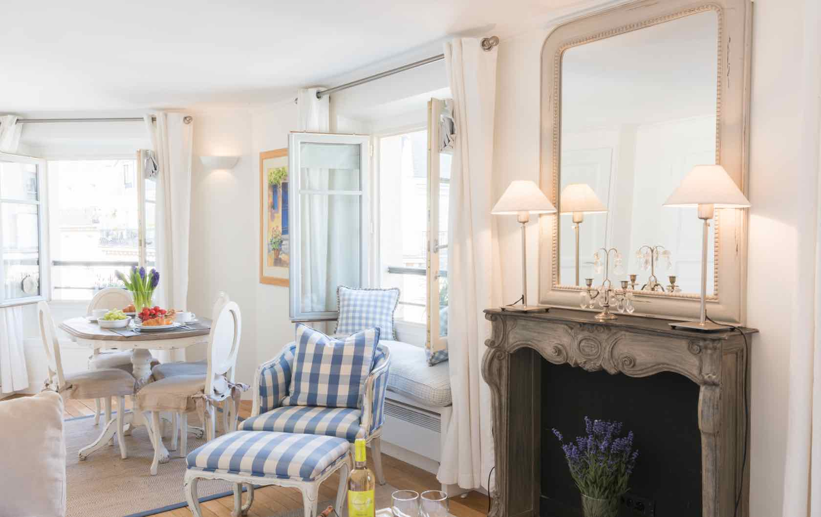 The 6 Most Romantic Paris Apartments for Lovebirds by Paris Perfect Pomerol apartment