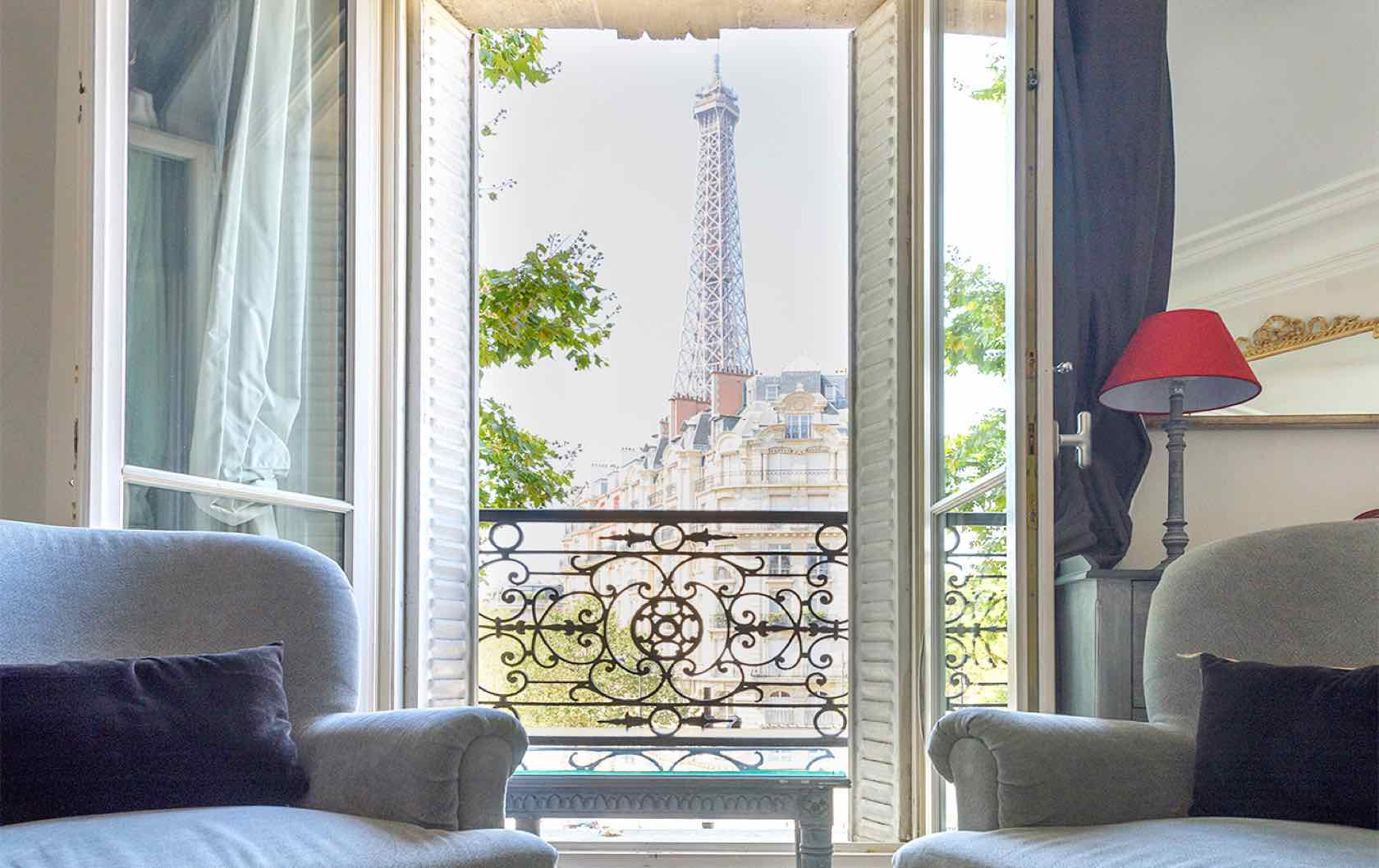 The 6 Most Romantic Paris Apartments for Lovebirds by Paris Perfect Volnay Apartment
