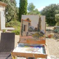 Painting Retreat in Provence, France