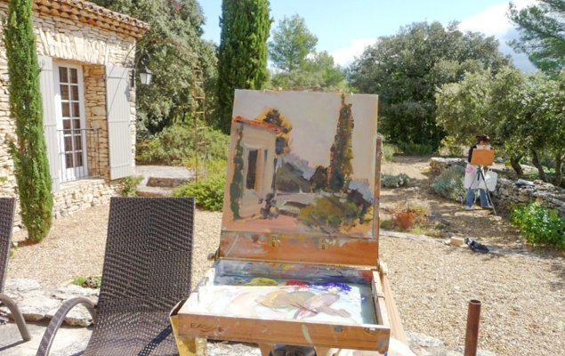 Get Inspired on a Week-Long Painting Retreat in Provence!