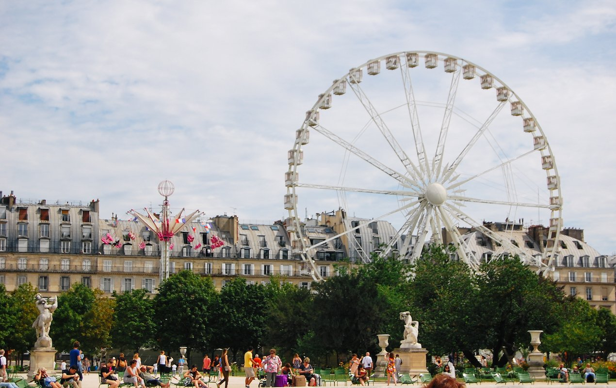 Summer Fair in the Tuileries Garden, Paris