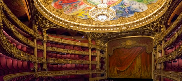 A Look Inside the Opèra Garnier by Suzette Barnett