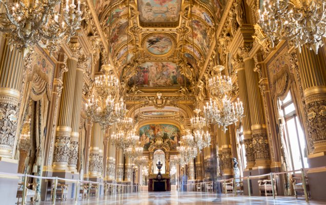 The Mesmerizing Opulence of the Palais Garnier