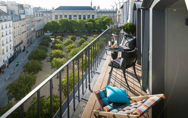 Savennieres Balcony