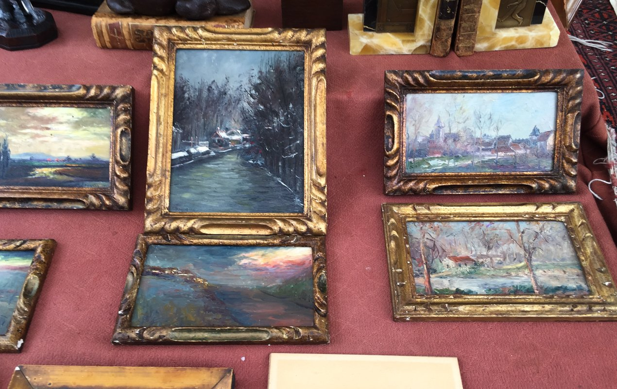 Browsing the Paris Flea Markets