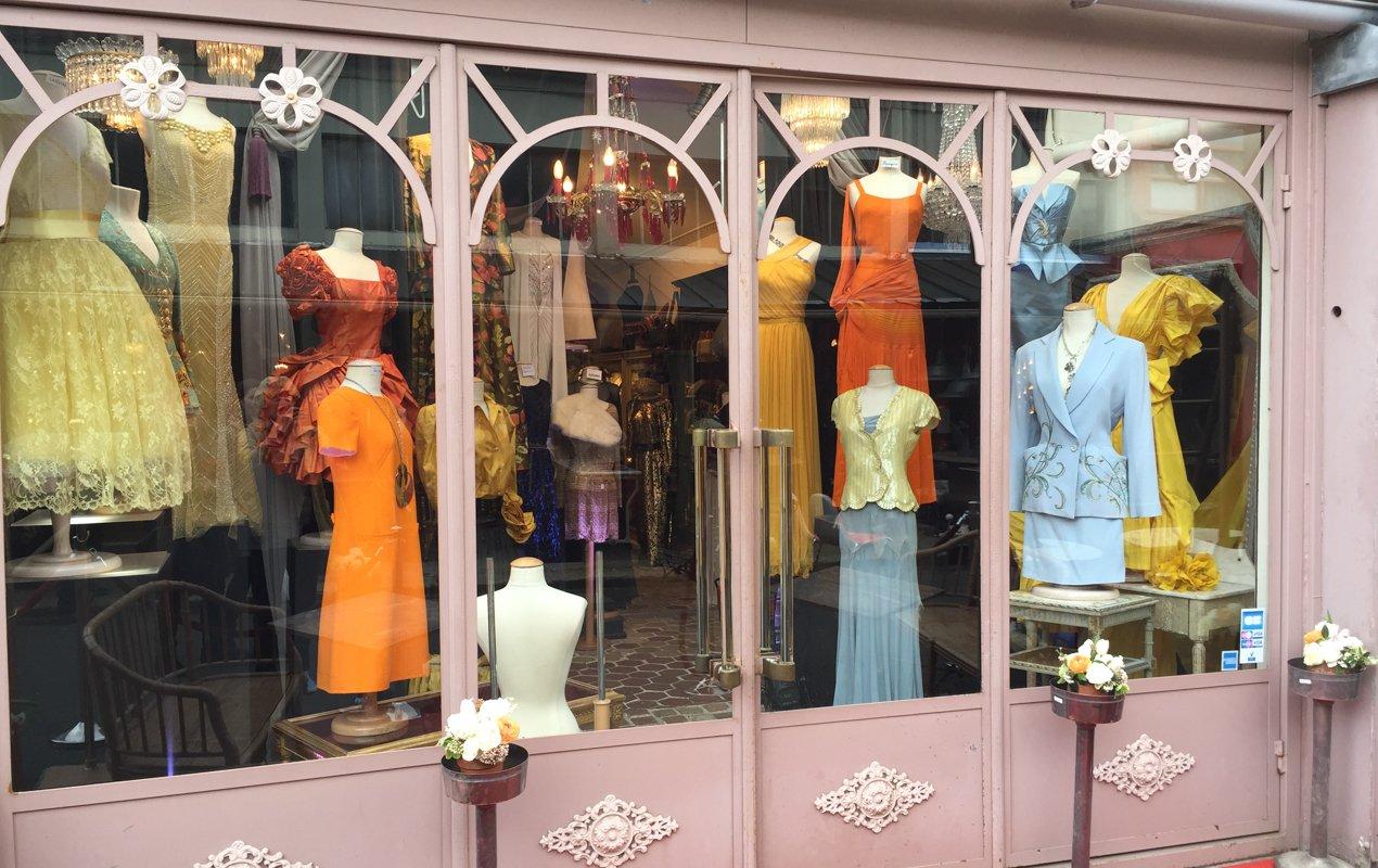 Browsing the Paris Flea Markets