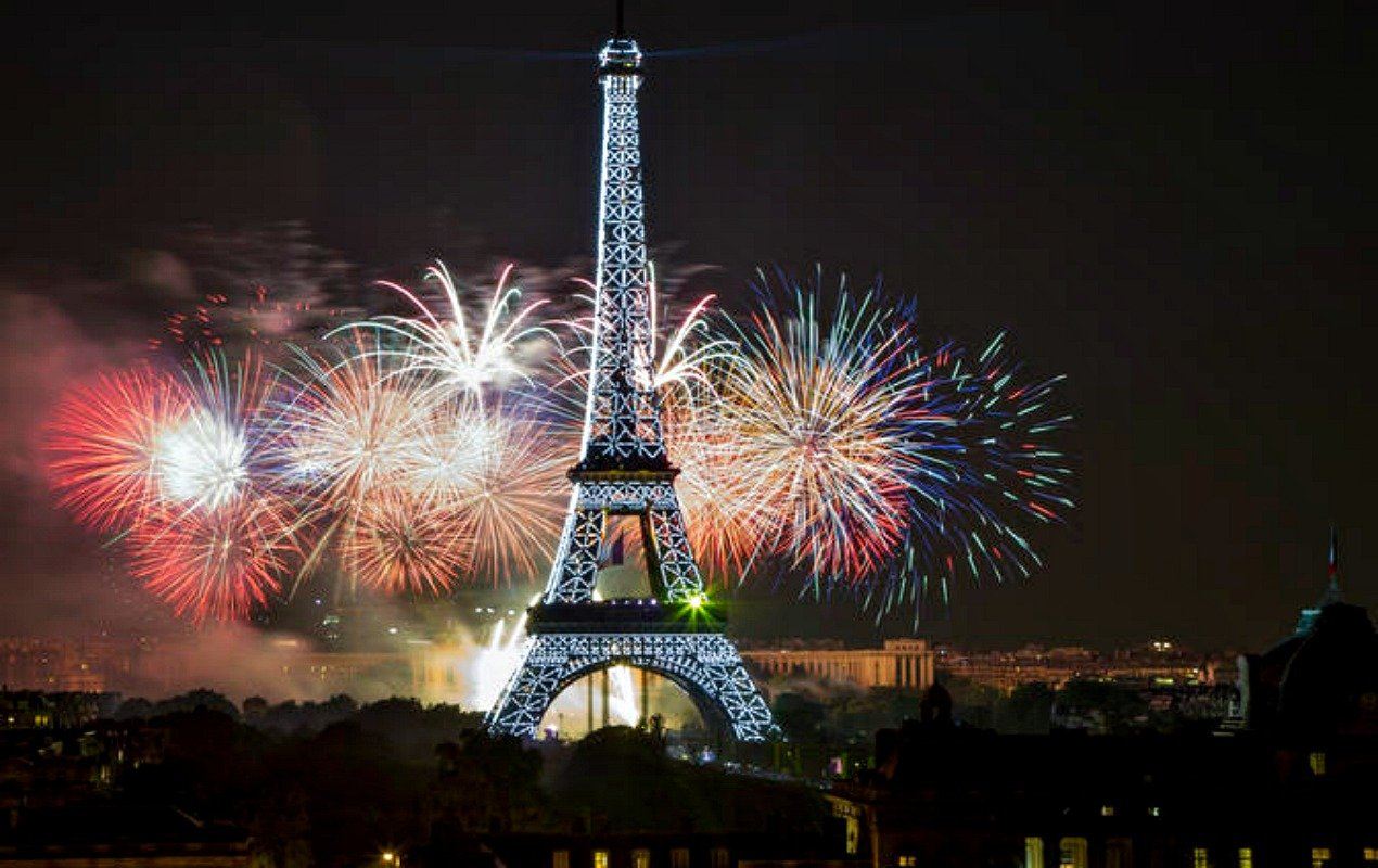 Visit to UNESCO followed by viewing of the Fireworks by the City of Paris, on the occasion of the French National Day