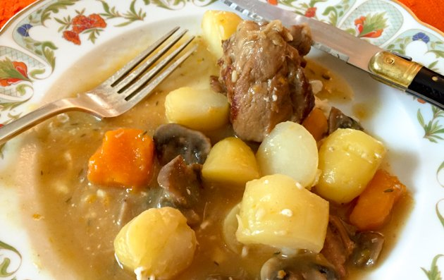 Family Recipe: French Blanquette de Veau