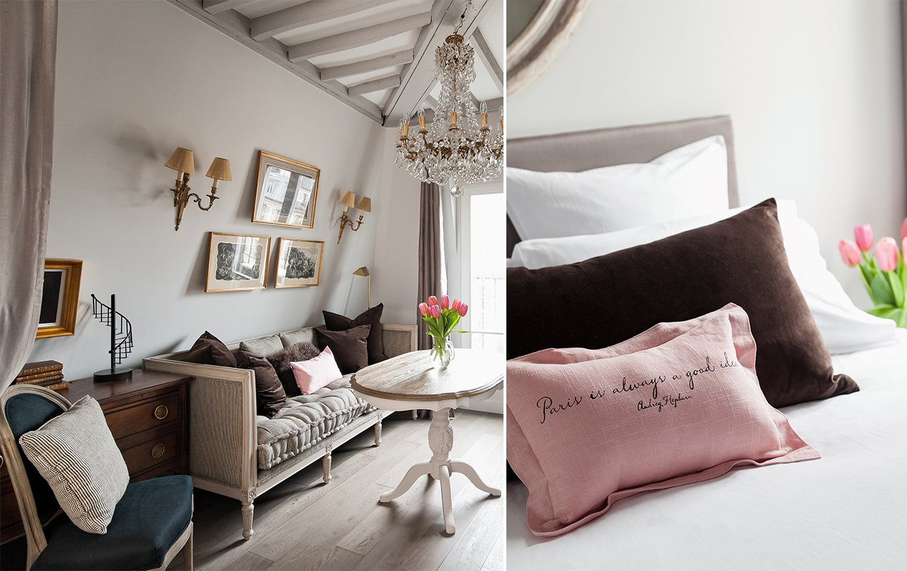 Parisian Home Décor Tips for Fluffy Pillows