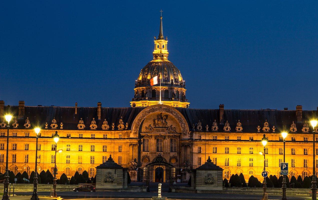 Light & History Show at the Hôtel des Invalides