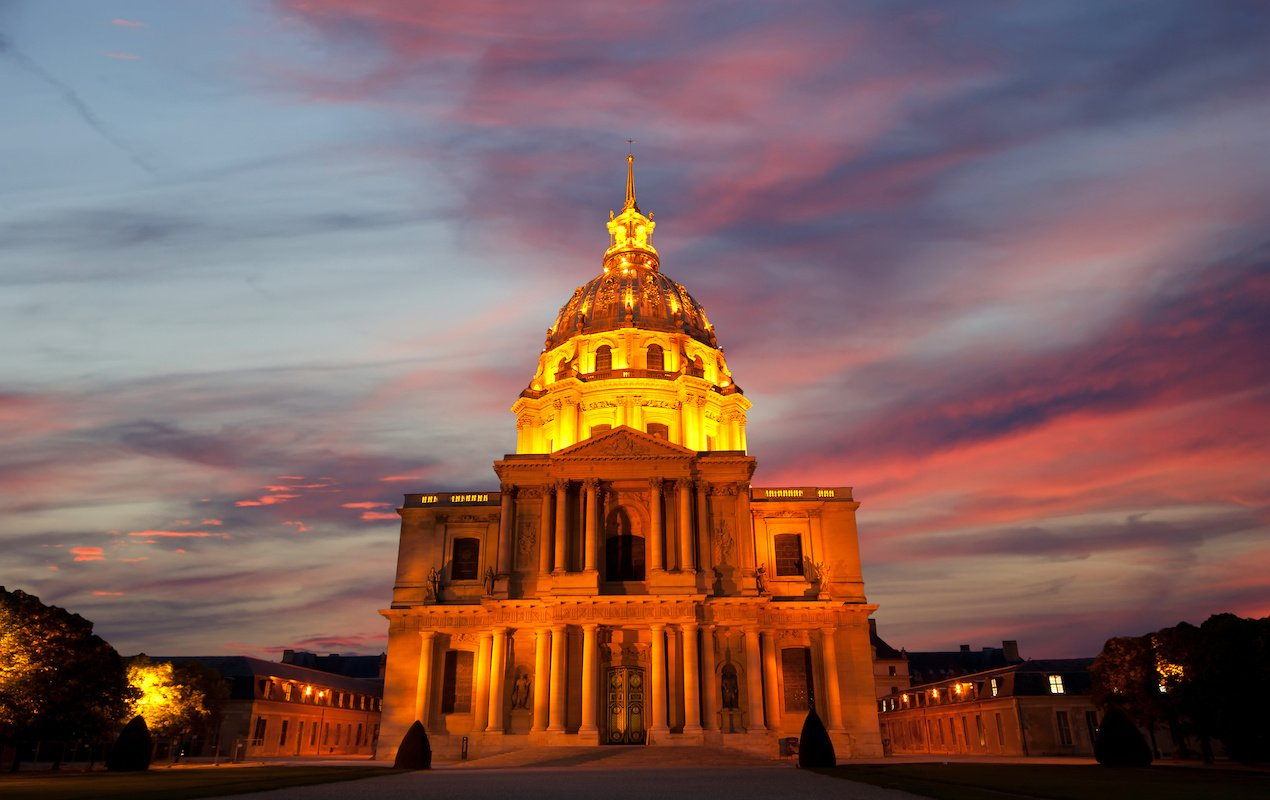 Light & History Show at the Hôtel des Invalides