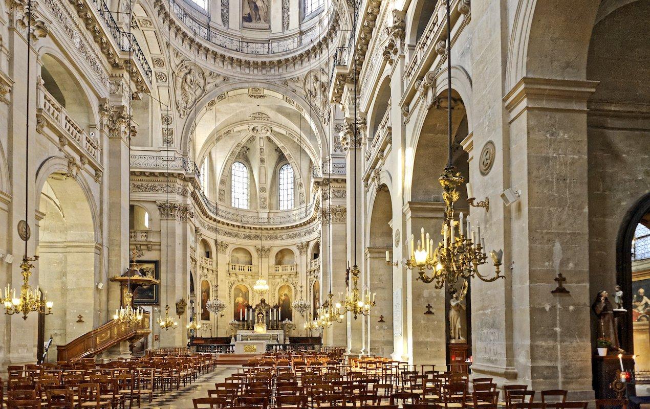 7 Amazing Churches in Paris - Saint Paul Saint Louis in the Marais