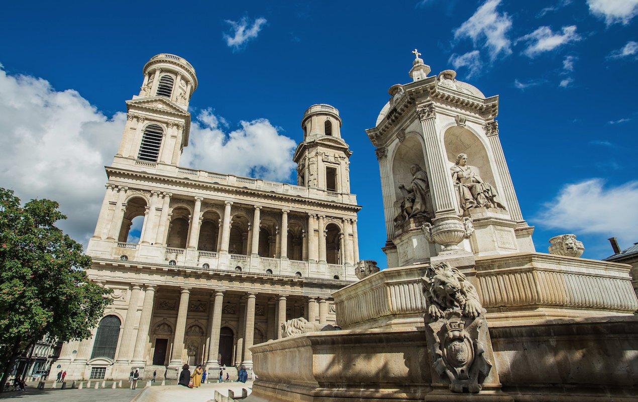 7 Amazing Churches in Paris - Saint Sulpice in Saint Germain des Prés