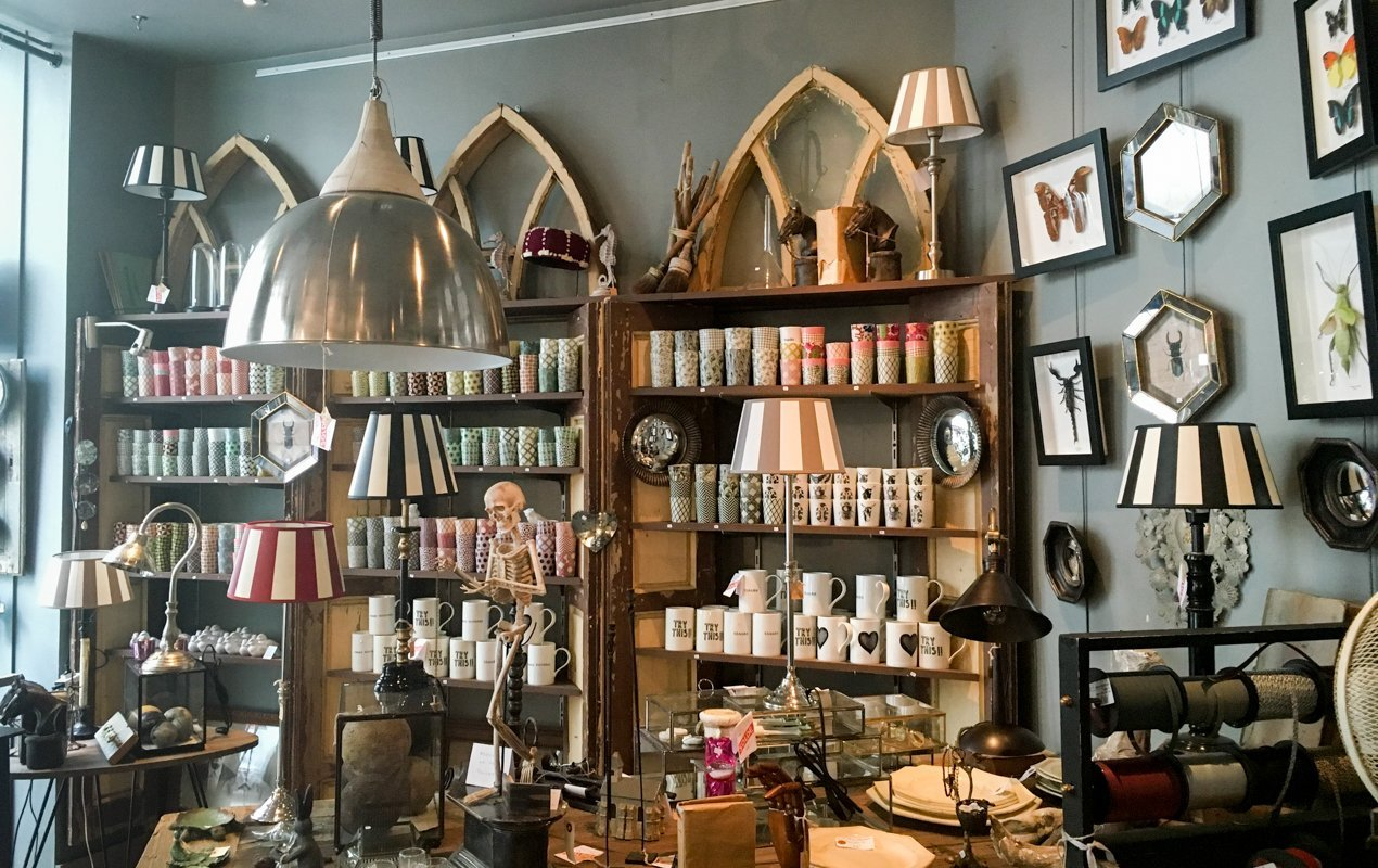 A quirky home d cor boutique in the heart of the marais - Home decor stores in charlotte nc image ...