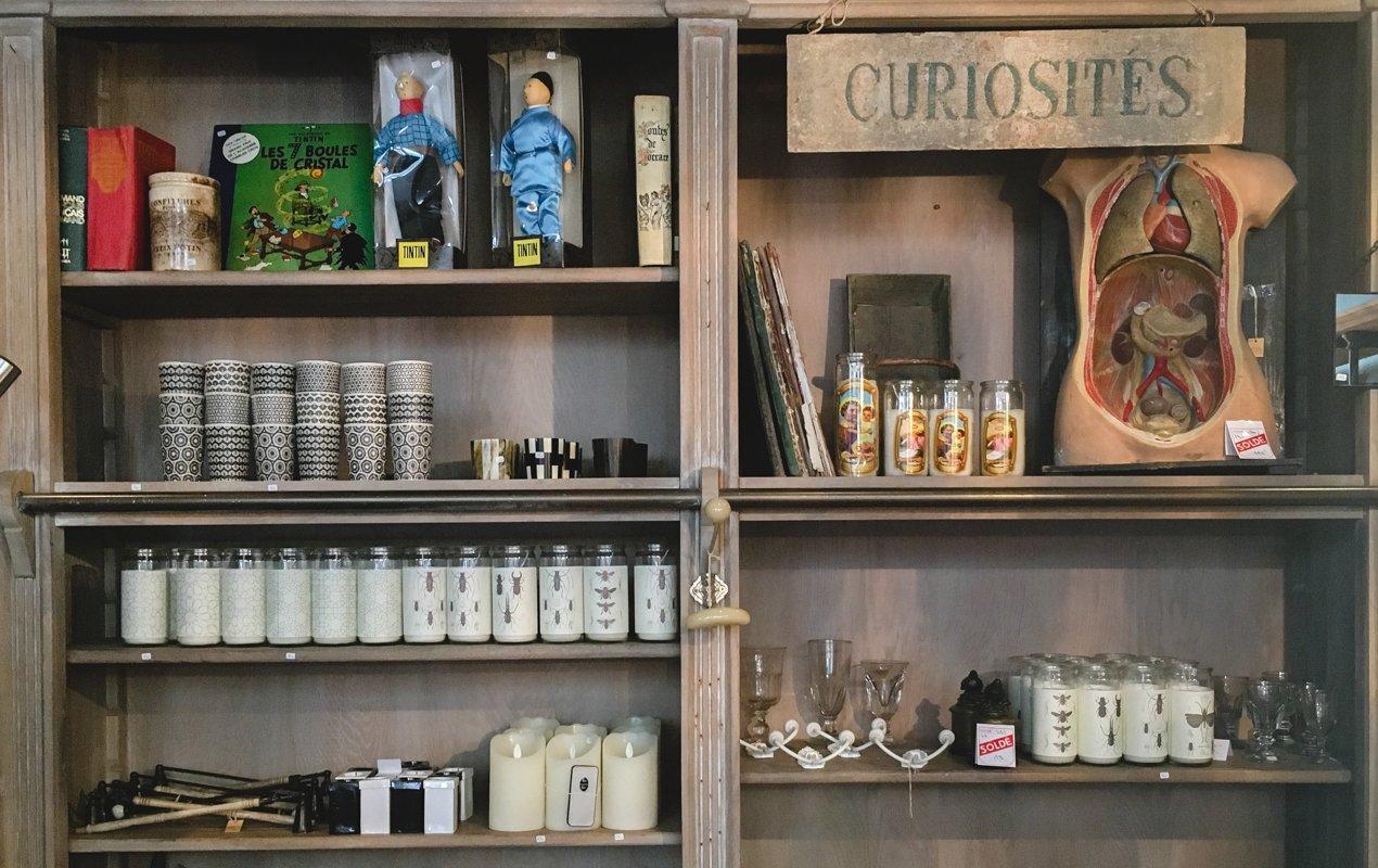 De Bouche à Oreille Décor Shop in Paris