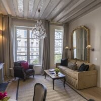 Our gorgeous Muscat apartment at 25 Place Dauphine