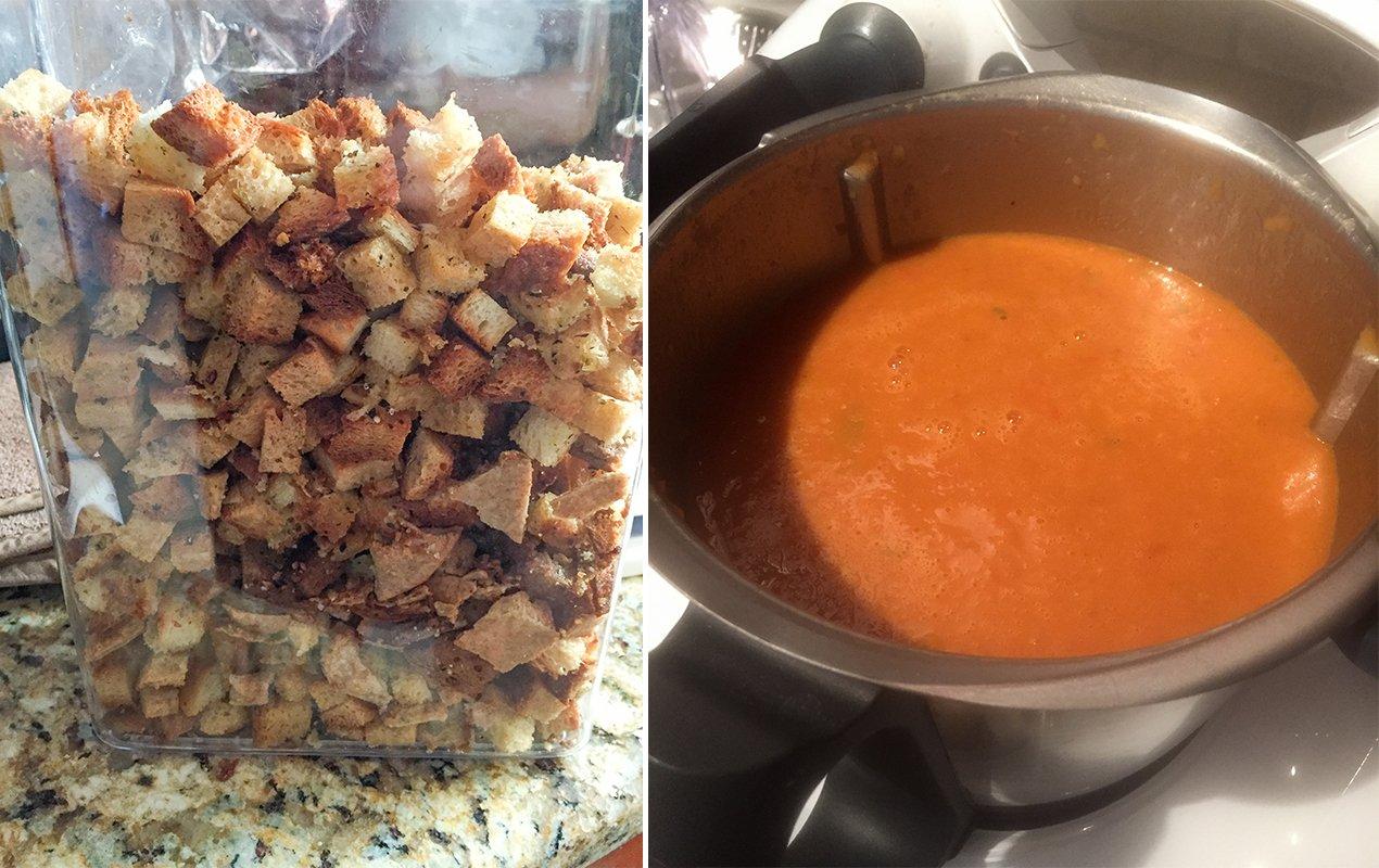 End of summer gazpacho recipe