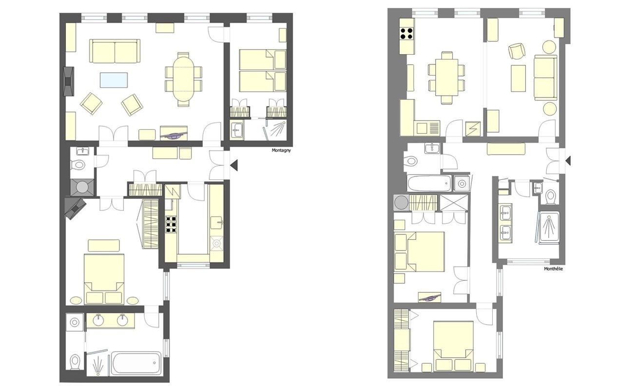 Final Floorplans