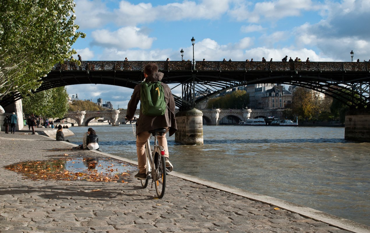 How to Rent a Bike in Paris Using Velib'!