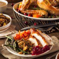 Thanksgiving Meal in Paris