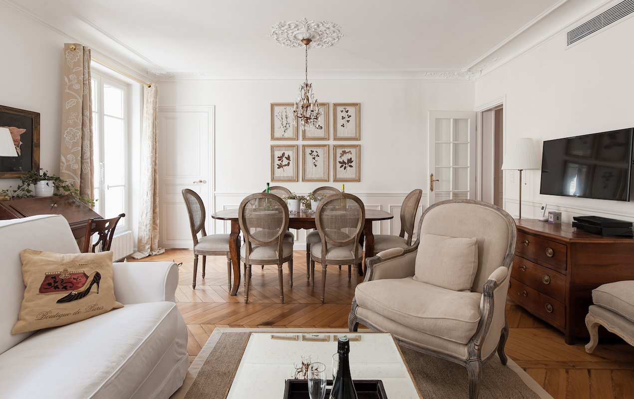 Montagny Living-Dining Room - Paris Perfect