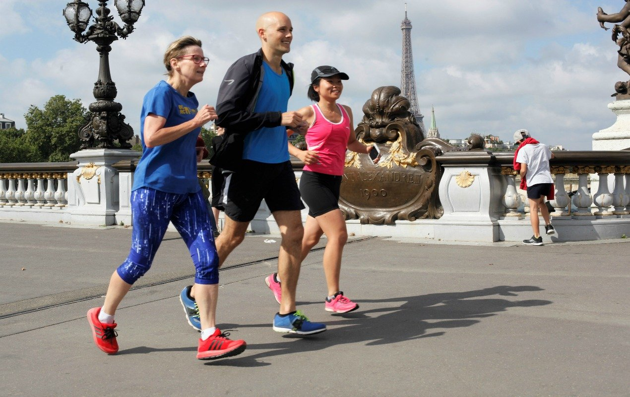 See Paris On the Go with a Free Paris Running Tour
