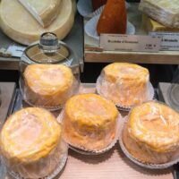 Inside a Cheese Store in Paris