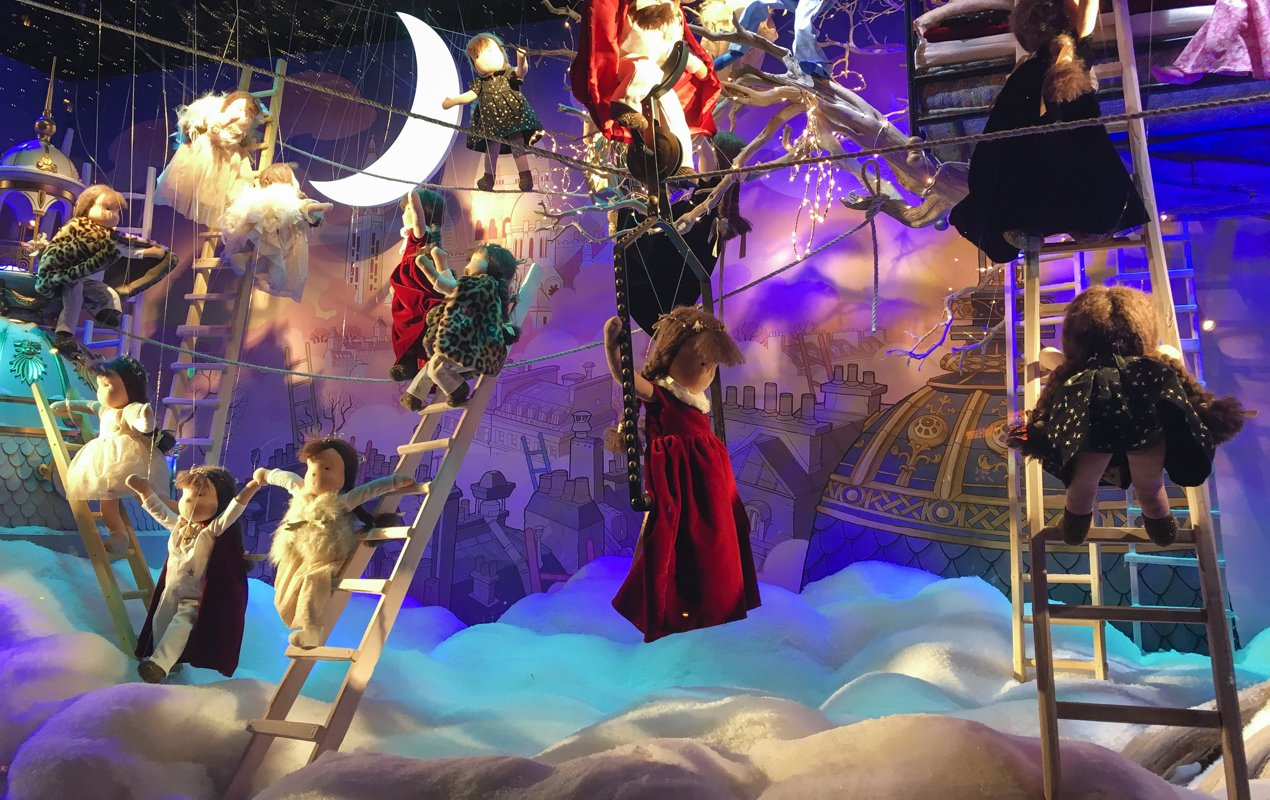 Paris Holiday Windows 2016, Printemps & Galeries Lafayette - Paris Perfect