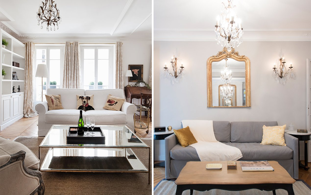 Designing Twin Paris Apartments - Paris Perfect